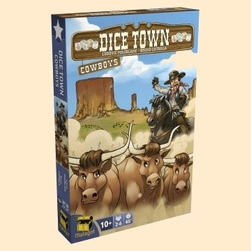 Dice town - Extension Cowboys