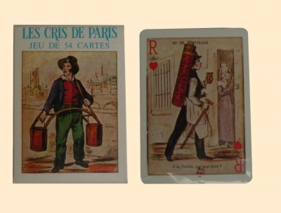 Cartes Les cris de Paris