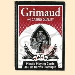 Cartes Poker Grimaud index Jumbo