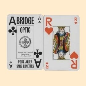 2 jeux de bridge optic