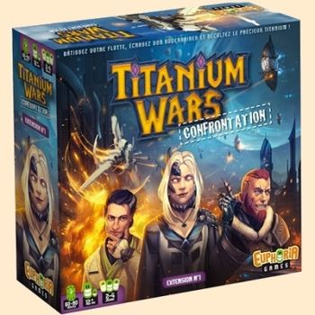 Titanium Wars : Confrontation