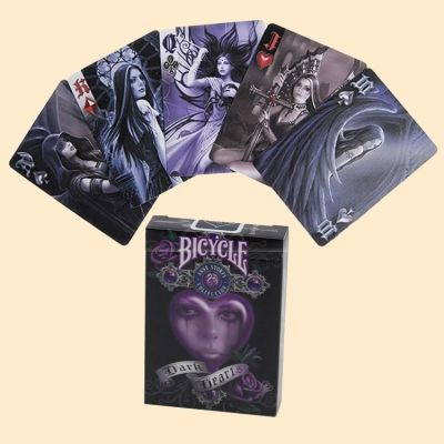 Cartes Bicycle Anne Stokes Dark Hearts