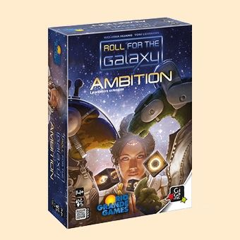Roll for the galaxy - Extension Ambition