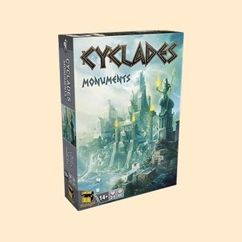 Cyclades : extension Monuments
