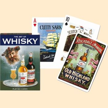 Jeu de 55 cartes - Whisky