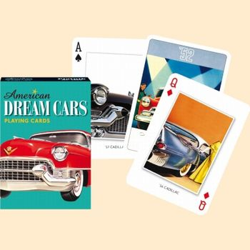 Jeu de 55 cartes - American Dream Cars
