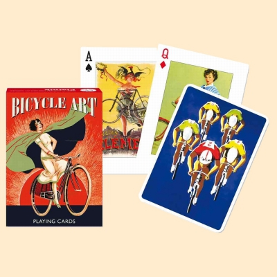 Jeu de 55 cartes - Bicycle Art