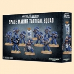 W40K : Space Marine Tactical Squad