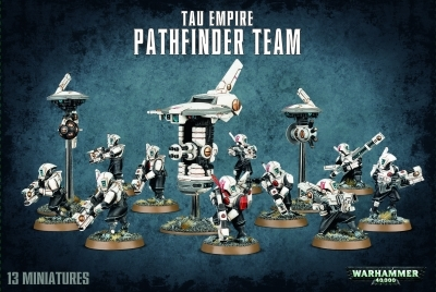 W40k : Tau Empire Pathfinder Team
