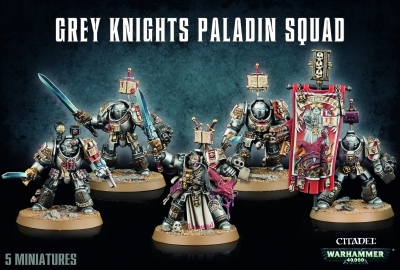 W40K : Grey Knight Paladin Squad