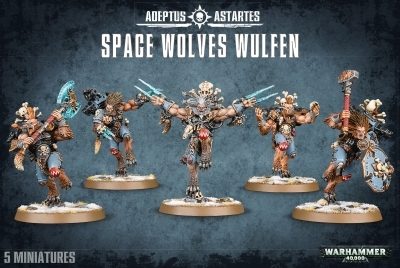 W40K : Space Wolves Wulfen