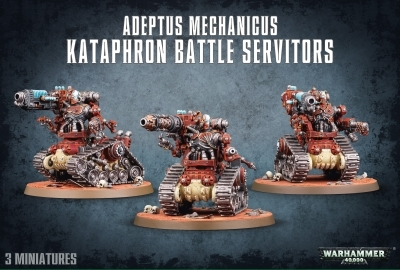W40K : Adeptus Mechanicus Kataphron Battle Servitors