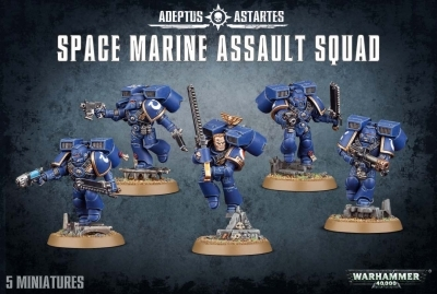 W40K : Space Marine Assault Squad