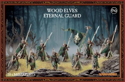 WAoS : Wood Elves Eternal Guard