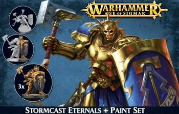 WAoS : Stormcast Eternals + Paint Set