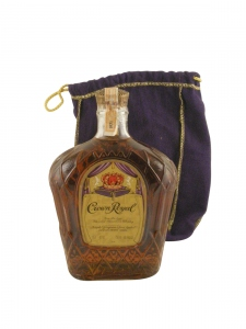 Crown Royal Canadian Whisky 1971
