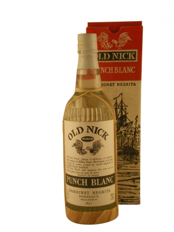 Bardinet Old Nick Punch Blanc