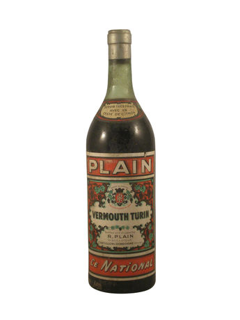 Plain Vermouth Turin « Le National »