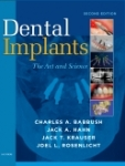 Dental implants : the art of science (2nd edition)