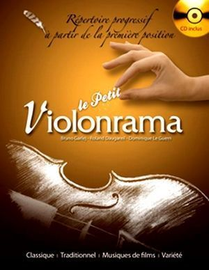 Bruno GARLEJ, Roland DAUGAREIL & Dominique LE GUERN Le petit violonrama + CD