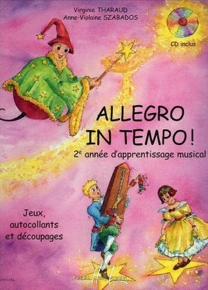 Virgine THARAUD & Anne-Violaine SZABADOS Allegro in Tempo! + CD