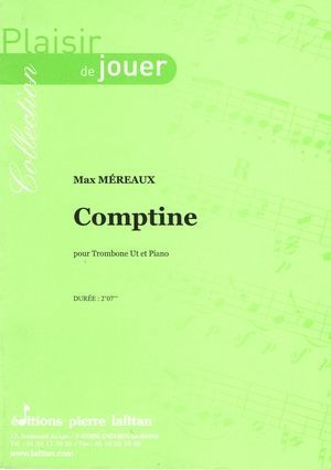 Max MEREAUX Comptine