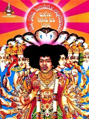 Jimi HENDRIX Axis Bold As Love TAB