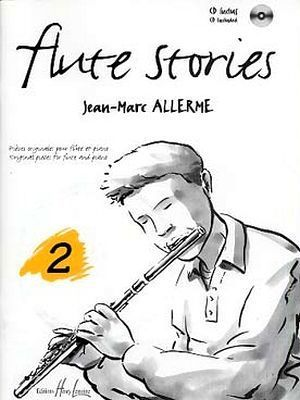 Jean-Marc ALLERME Flûte Stories vol.2 + CD