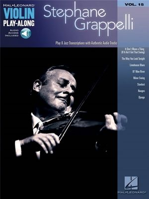 Violin Paly-Along vol.15: Stéphane GRAPPELLI