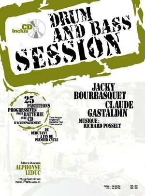 Jacky BOURBASQUET & Claude GASTALDIN Bass and Drum Session + CD