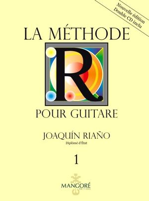 Joaquin RIANIO La méthod our guitare vol.1 + CD's (Nouvelle édition)