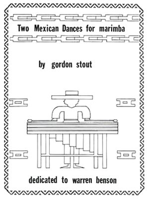 Gordon STOUT Two Mexican Dances For Marimba