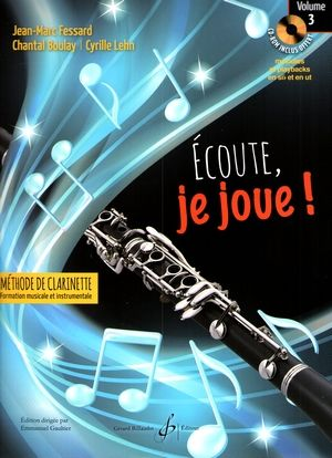 Jean-Marc FESSARD, Chantal BOULAY & Cyrille LEHN Ecoute, je joue vol.3 + CD-ROM