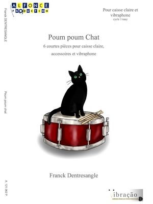 Franck DENTRESANGLE Poum Poum Chat