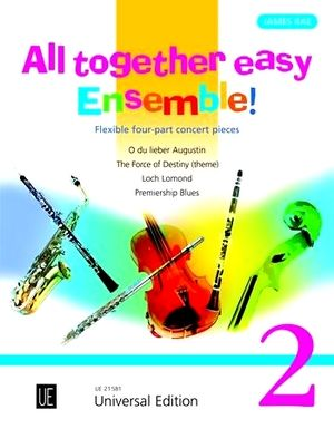 James RAE All Together Easy Ensemble! vol.2