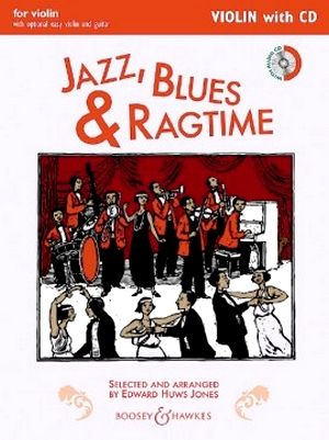 Edward HUWS JONES Jazz, Blues, Rag Complete Edition + CD