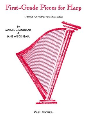 Marcel GRANDJANY & Jane WEIDENSAUL First-Grade Pieces For Harp