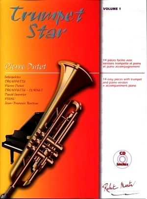 Pierre DUTOT Trumpet Star vol.1 + CD