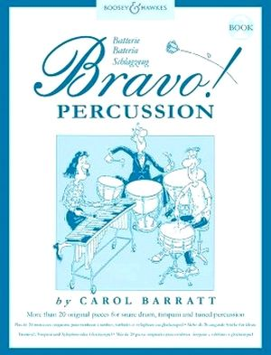 Caroll BARRATT Bravo! percussion vol.2