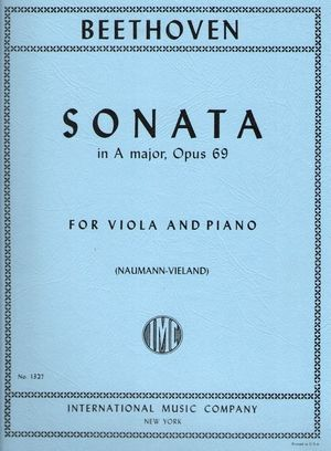 BEETHOVEN Sonata in A major op.69