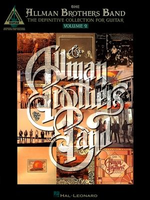 THE ALLMAN BROTHERS BAND The Definitive Collection vol,2 TAB