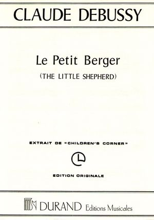 Claude DEBUSSY Le petit berger (The Little Shepherd)