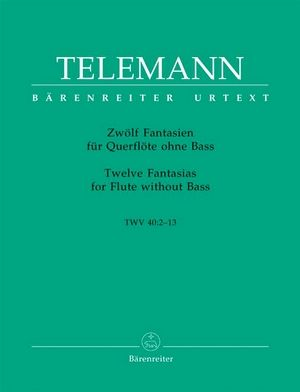 TELEMANN 12 Fantaisies TWV 40:2-13