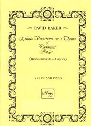 David BAKER Ethnic Variations on a Theme of Paganini