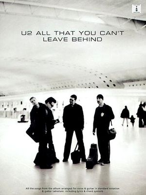 U2 All That You Can't Leave Behind TAB