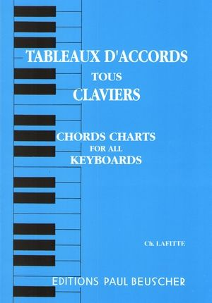 Charles LAFITTE Tableaux d'accords tous claviers