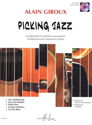 Alain GIROUX Picking Jazz + CD