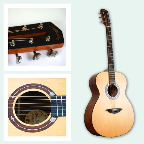 Guitare Folk NADERMAN Naturel Comanche NDCM1
