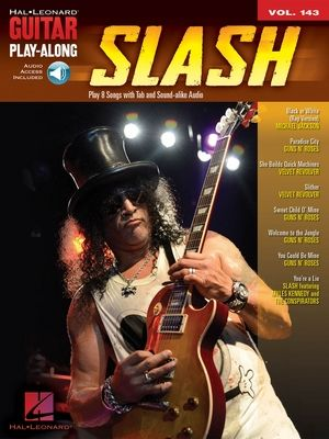 SLASH Guitar Play-Along vol.143 + CD TAB