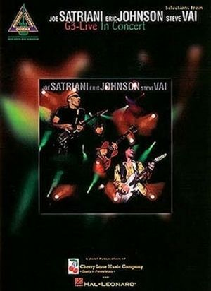 Joe SATRIANI, Eric JOHNSON & Steve VAI G3 Live In Concert TAB